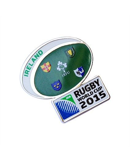 Rugby World Cup 2015 IRELAND country collection - Ireland Flag Pin
