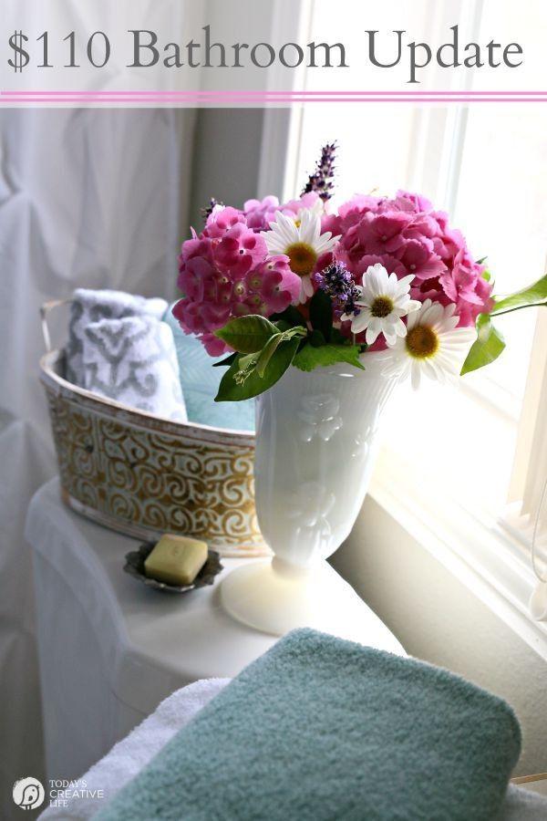 Bathroom updates decorating ideas and bathroom on pinterest for Bathroom update ideas