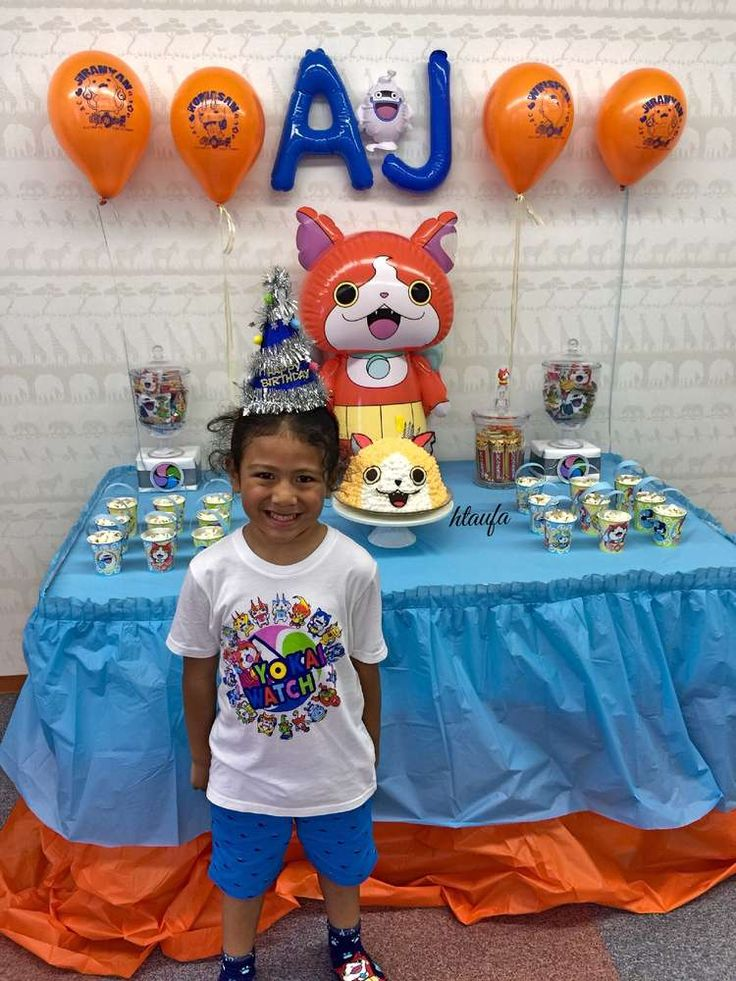 AJ'S YOKAI WATCH BIRTHDAY | CatchMyParty.com