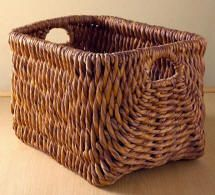 Wicker Baskets - rattan & water hyacinth from Thailand and Vietnam