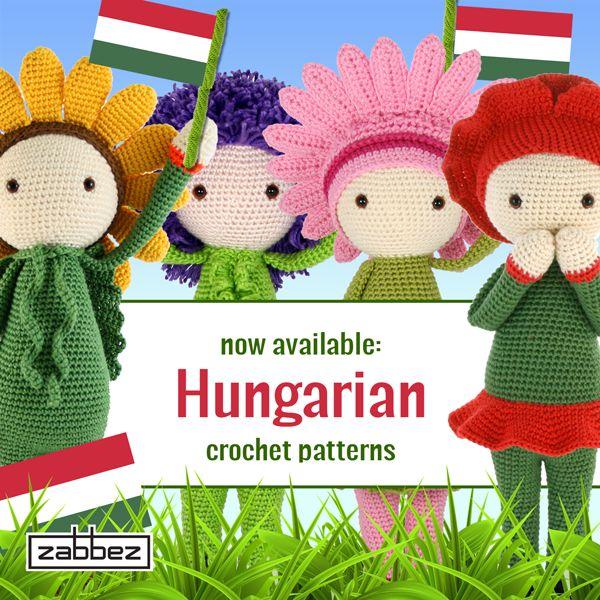 Hungarian flower doll crochet patterns