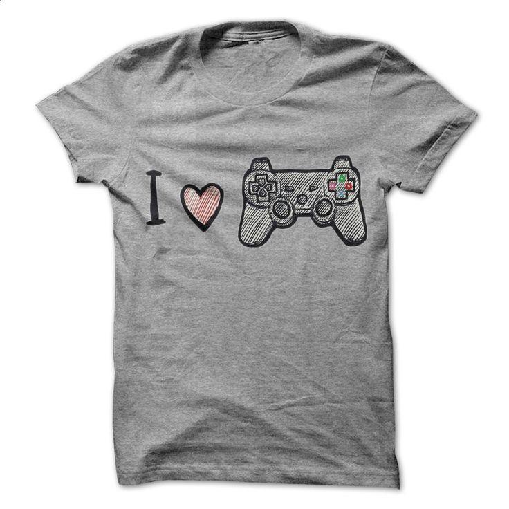 I Love Play Station T Shirts, Hoodies, Sweatshirts - #sweatshirt #mens hoodies. SIMILAR ITEMS => https://www.sunfrog.com/Video-Games/I-Love-Play-Station.html?60505