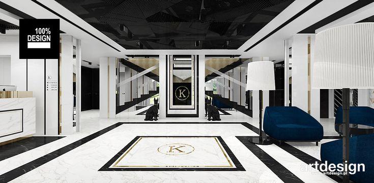 Hotel KONTRAST | Projekt wnętrz hotelu