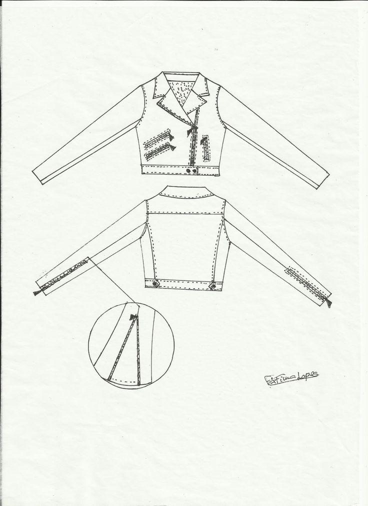 MOLDE BLUSÃO (JAQUETA) JUVENIL Molde de blusão juvenil para imprimir grátis. O molde encontra-se com os tamanhos 10, 12, 14 e 16 anos. Para imprimir o mold