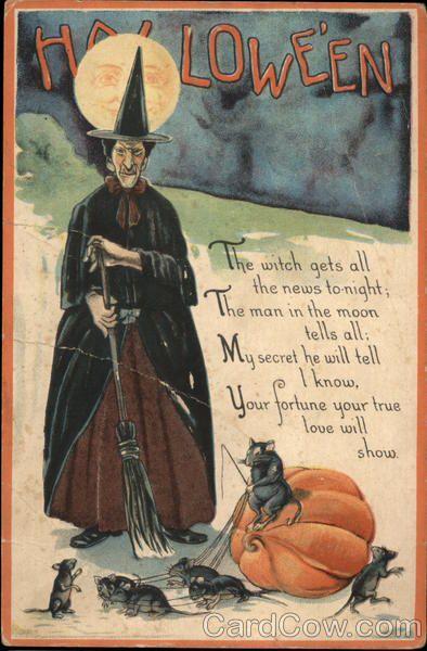 halloween - Vintage Halloween Witches