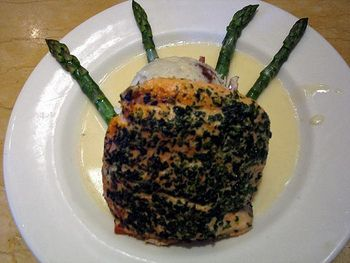 Cheesecake factory herb crusted salmon - I have to try this cause it's one of my favorites