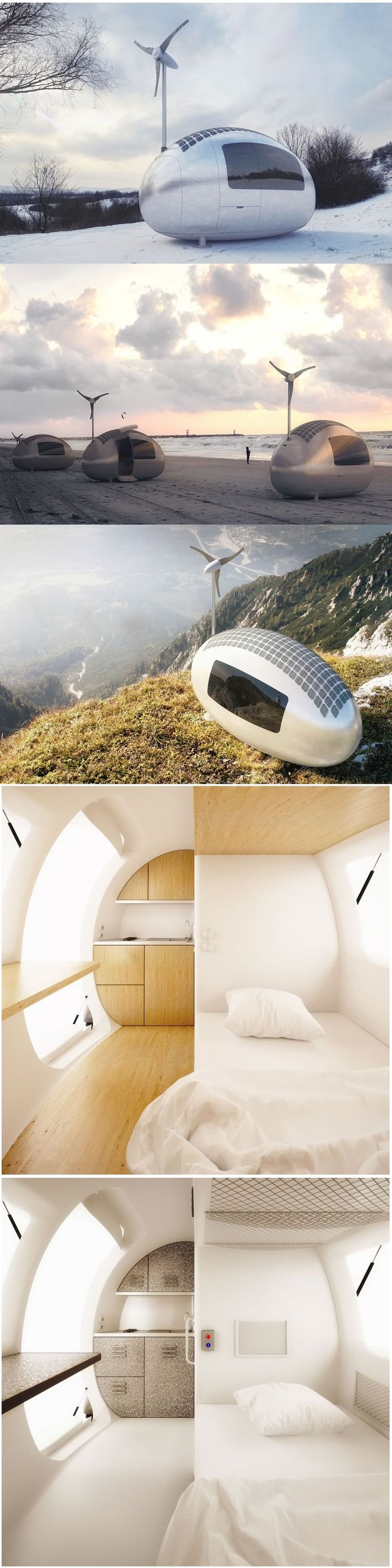 ECOCAPSULE - Dwelling with the spirit of freedom