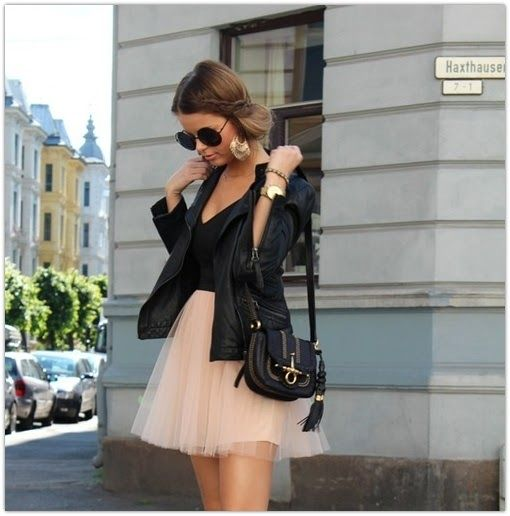 Obsessed with the tulle skirt, this one is the best outfit for me.