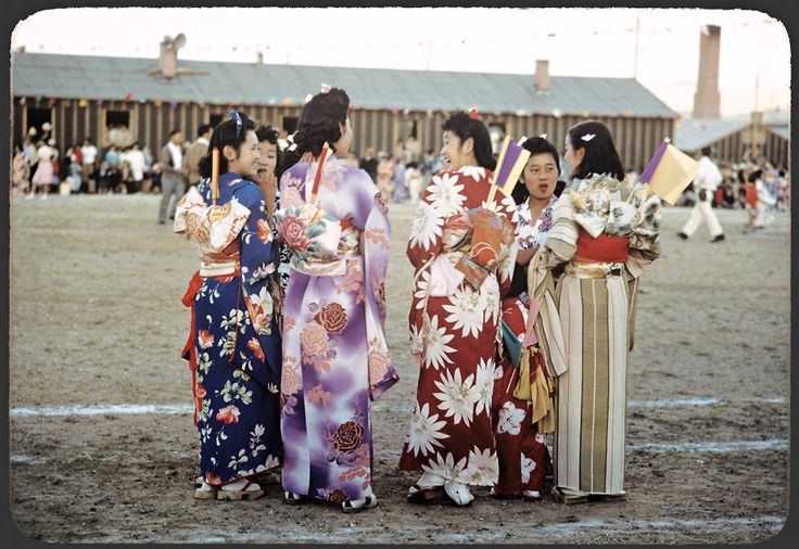 In a Japanese Internment Camp
