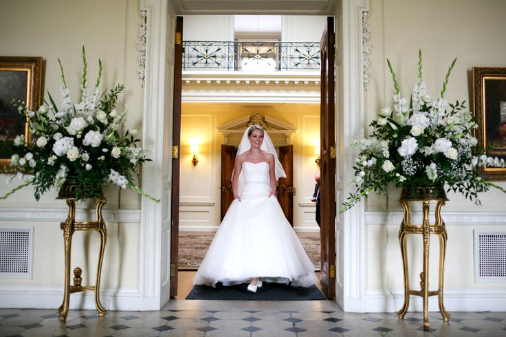 One of our gorgeous brides at Hedsor House