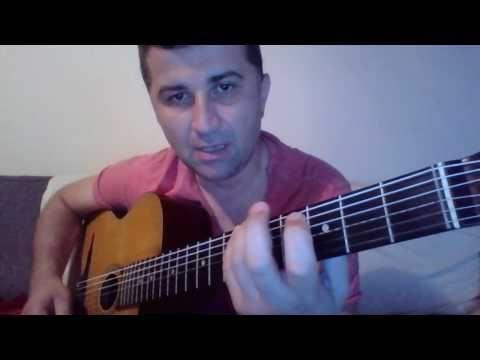 Gitar Dersleri Gitarda Gamlar   La Bemol Ab Major   II Pozisyon   IV Bem...