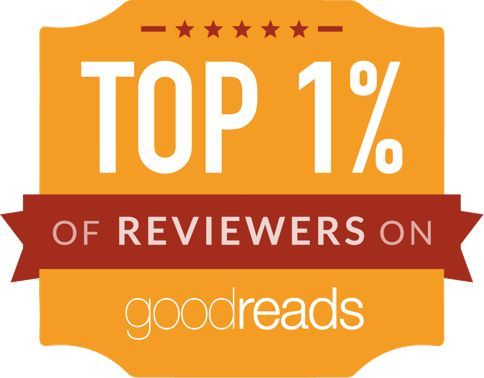 @Njkinny is now one of the top 1% of reviewers on @goodreads! Thanks for supporting me. :) Let's be frnds on Goodreads and talk books here: https://www.goodreads.com/NjKinny