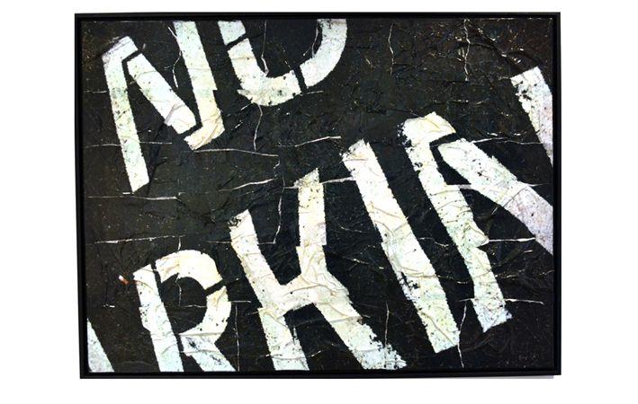 Makers Lane :: No Parking Custom Made, Bespoke artwork made in Australia.