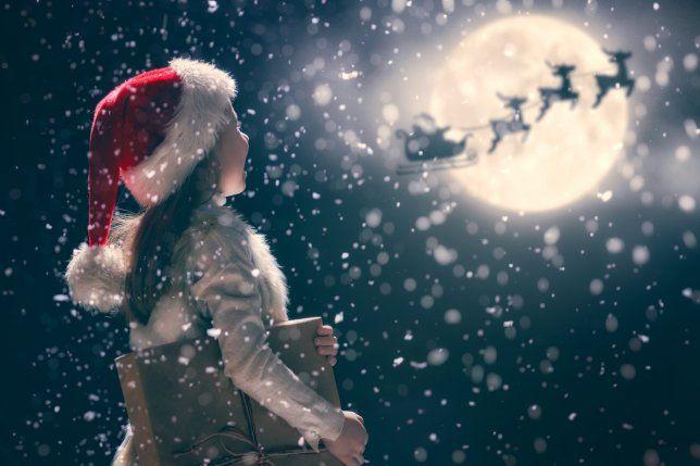 How to spot Santa\u0027s sleigh in the sky on Christmas Eve Christmas