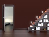 OŚWIETLENIE LEDOWE DO MINIMALISTYCZNYCH WNĘTRZ: Ledowe oświetlenie nie jest zarezerwowane tylko do wnętrz domów i mieszkań. Led Cristal mogą być stosowane jako oświetlenie zewnętrzne. Emitowane przez nie krystaliczne światło podkreśli fakturę, np. klinkierowej okładziny elewacyjnej.