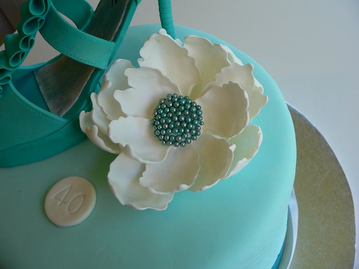 about cake decorations on Pinterest  40th birthday, Birthday cakes ...