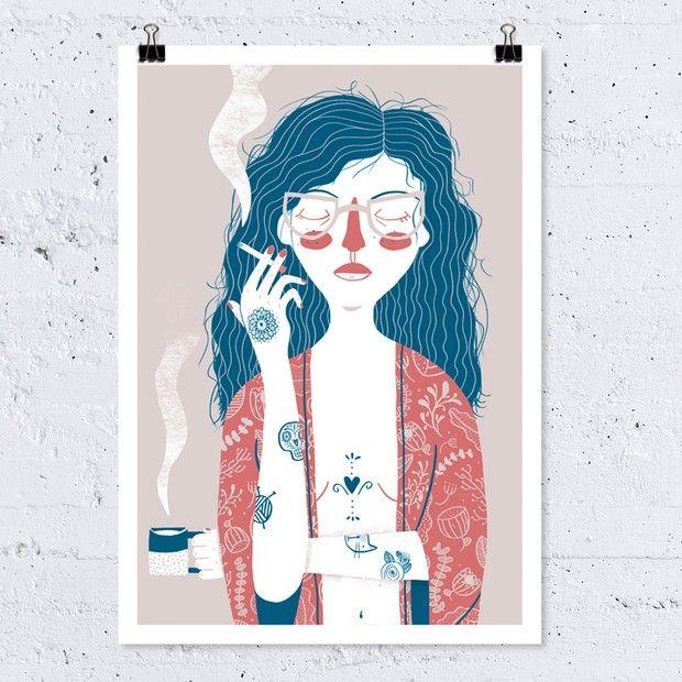 Coletivo Piscina: plataforma online divulga arte feita apenas por mulheres autênticas e inspiradoras - Follow the Colours