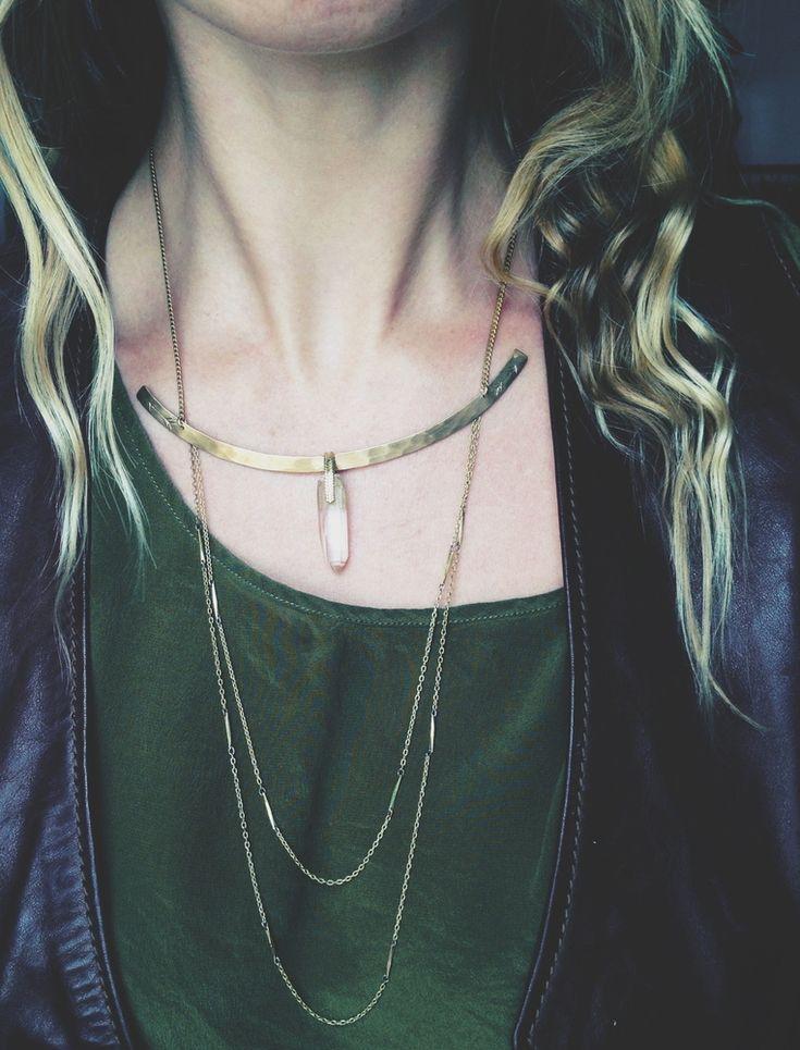 Eros Drop Chain Necklace Rackk & Ruin