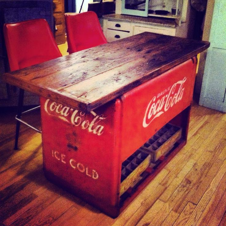Coca-Cola Island. Oh my gosh need this.