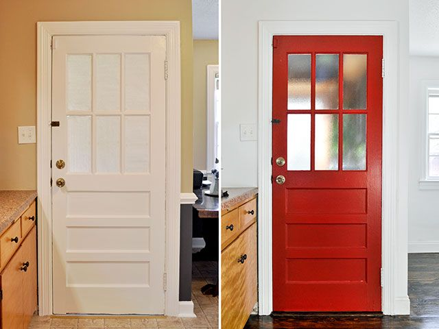 $500 Kitchen Renovation | Beautiful Matters & 18 best Doors images on Pinterest | Entrance doors Band and Front doors