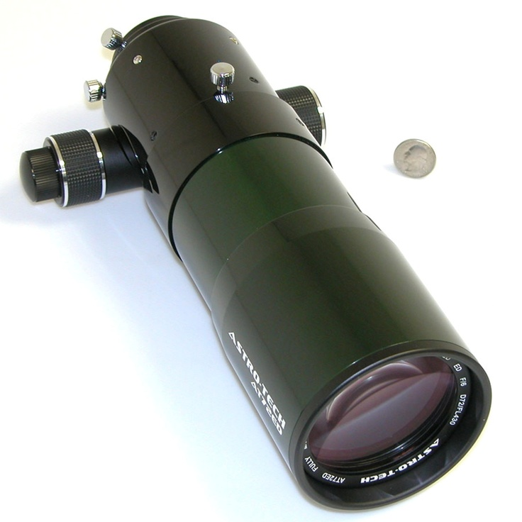 Astro-Tech - AT72ED 72mm f/6 ED doublet refractor, green and black tube