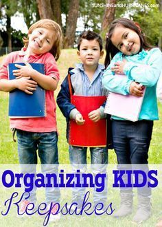 Drowning in all your child's artwork, school paper and mementos but can't stand the idea of throwing any of it away? Today's technology has a solution for you. We'll show you how to preserve all those memories while also preserving your sanity and the order in your home. Organizing Kids Keepsakes. http://SunshineandHurricanes.com?utm_content=buffer18a81&utm_medium=social&utm_source=pinterest.com&utm_campaign=buffer