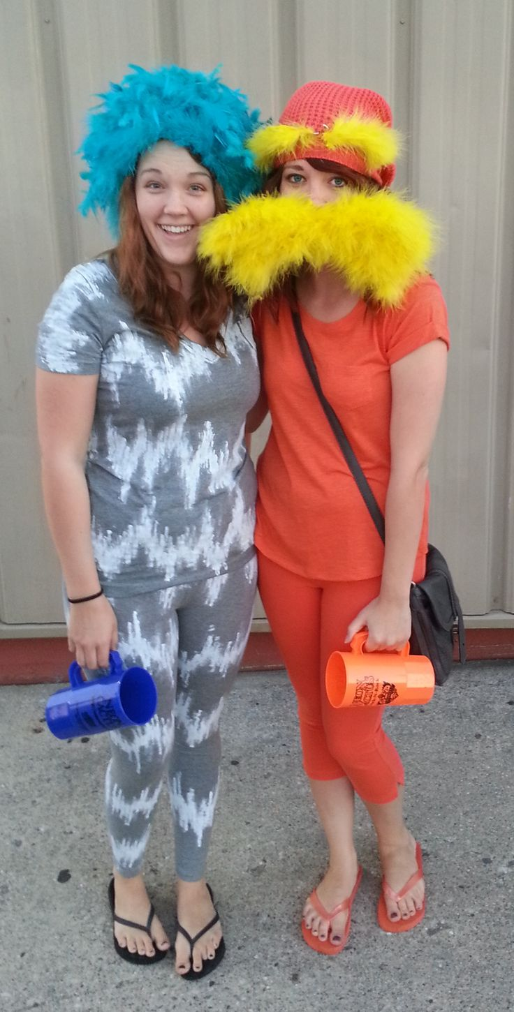 Dr. Seuss. Lorax and Truffula Tree Costume