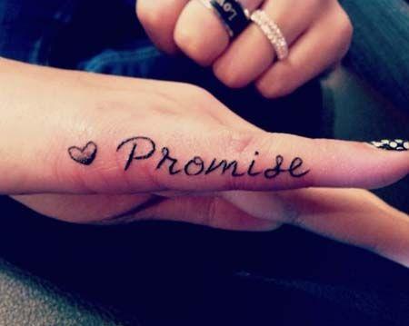 29 Finger Tattoo Ideas for Women, Girls