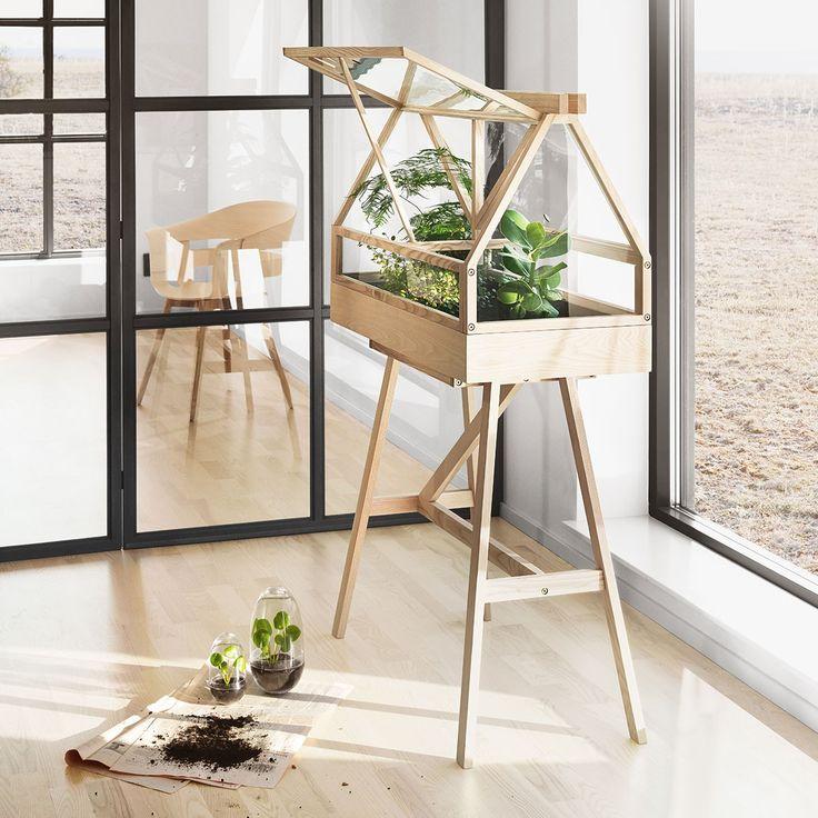 terrarium greenhouse v ritable cosyst me le terrarium greenhouse design par le studio. Black Bedroom Furniture Sets. Home Design Ideas