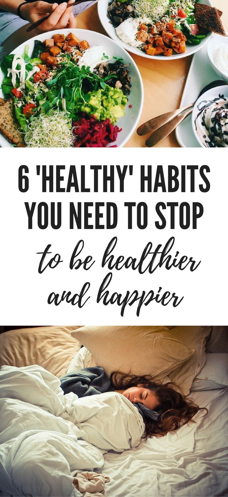Are you doing sabotaging your health without realising it? Stop doing these 6 'healthy' habits.