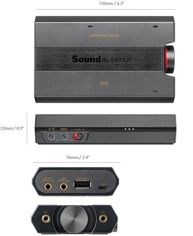 Sound Blaster E5 - Sound Blaster - Creative Labs (United States of America)
