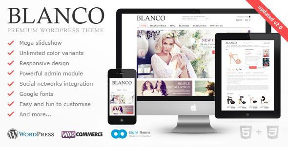 Blanco WordPress E-Commerce Theme