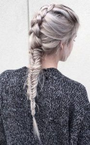 How to fishtail braid | Tutorial and styles