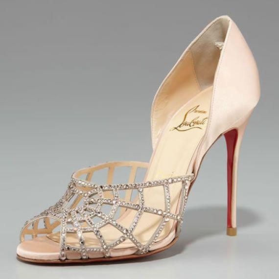 Christian Louboutin Spiderweb D'Orsay Heels