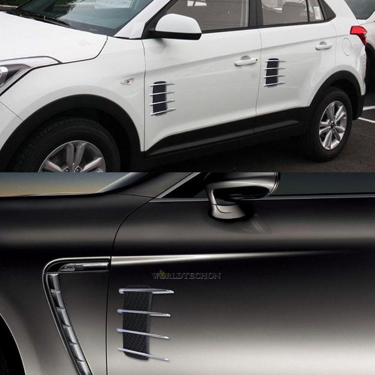 Universal Car Hood Side Flow Vent Fender Air Net Door Decals Auto Sticker DIY | eBay Motors, Parts & Accessories, Car & Truck Parts | eBay!