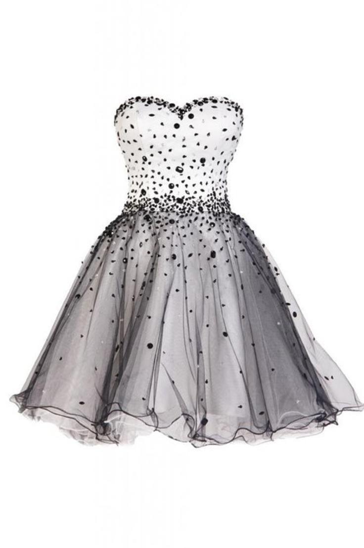 Ellames Sweetheart Short Prom Cocktail Homecoming Dresses For Juniors