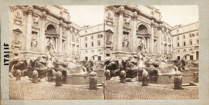 Fontana di Trevi (Henri Plaut, 1859)