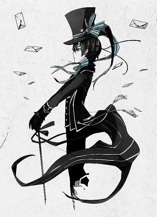 Anime: Kuroshitsuji (black butler) Character: Ciel Phantomhive