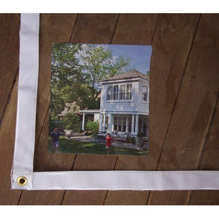 10 X 12 Clear Vinyl Tarps 20 Mil Walmart Com In 2020 Screened In Porch Diy Porch Vinyl Winter Porch
