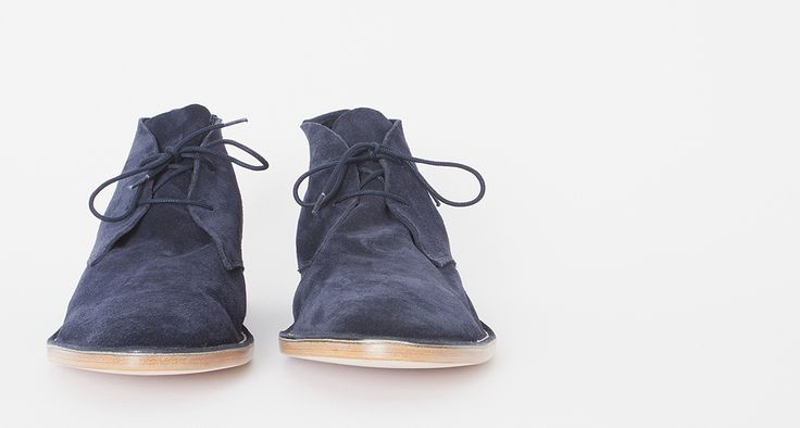 Blue suede shoes