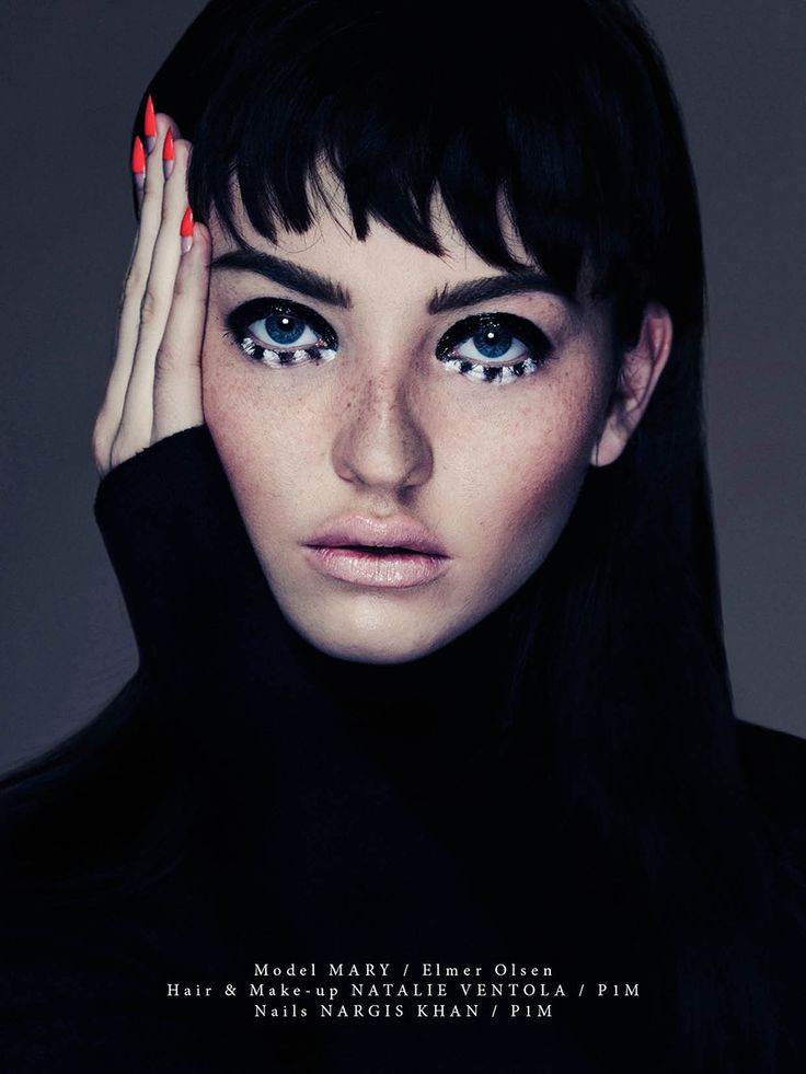 Mary Rubin by Alex Evans for Institute Magazine beauty story
