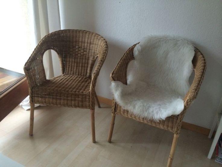 Schön Ich Verkaufe Diese 2 Super Schönen Und Bequemen Korbstühle/ Sessel. Sie  Sind So