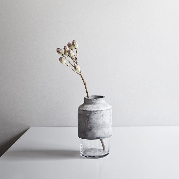 top3 by design - Menu - willmann concrete vase