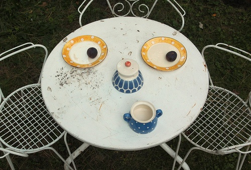 The Dainty SquidCoffe Time, Tables Sets, Inspiration, Tables Face, Funny Face, Sabines Timm, Art Design, Things, Honey