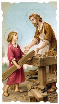 Oggi Primo Maggio in Occasione della Ricorrenza del Santo del Lavoro: San GIUSEPPE. Dedichiamo questo Post a tutti coloro che si chiamano Giuseppe, alla Parrocchia di Don Andrea …