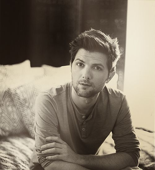 Love adam scott almost as much as I love Amy Poehler #closesecond #hottie via tangled up in my own thoughts