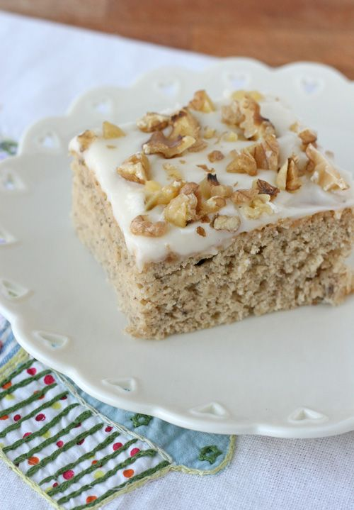 The best banana cake recipe ever!   This is a must try =D  #Banana Cake with Cream Cheese Frosting - by Glorious Treats