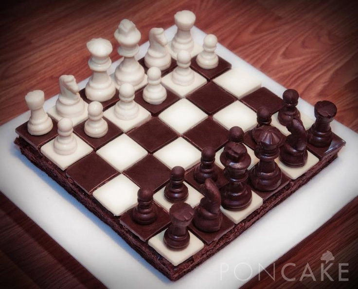 Chess Cake - Torta de Ajedrez: Chess Cakes, Chess Set, Set, Chess Board, Chess, Cakes Ajedrez, Photo, Cakes Deportes, Birthday Cakes