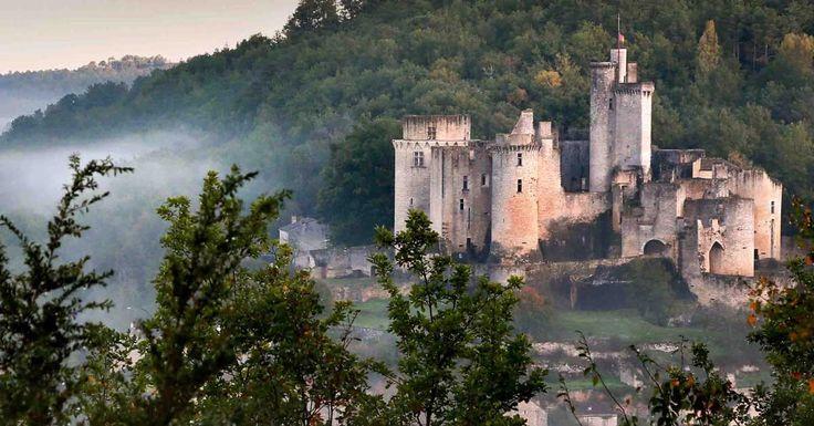 Château de Bonaguil, le Lot-et-Garonne au moyen-âge