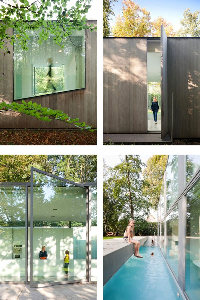 modern glasshouse Govaert & Vanhoutte